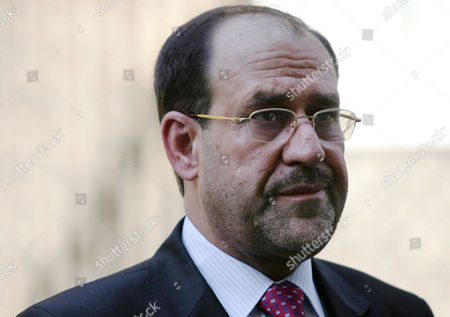 Nouri Kamil al-Maliki Iraqi Prime Minister Nouri Kamil al-Maliki leaves 10 Downing Street after a meeting and a joint press conference with the British Prime Minister Tony Blair, London