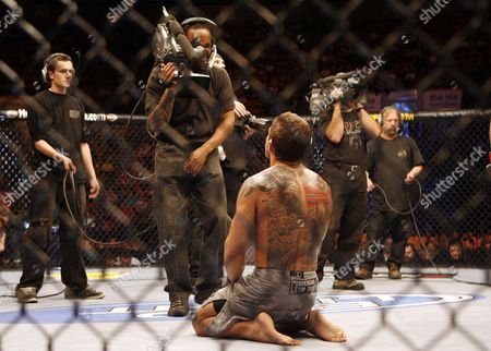 David Bielkheden David Bielkheden celebrates his victory over Jess Liaudin during UFC 89 at the National Indoor Arena in Birmingham, England on . Bielkeheden won via unanimous decision