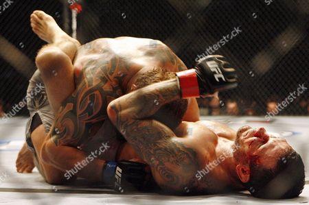 David Bielkheden, Jess Liaudin David Bielkheden, top, in action against Jess Liaudin during UFC 89 at the National Indoor Arena in Birmingham, England on . Bielkeheden won via unanimous decision