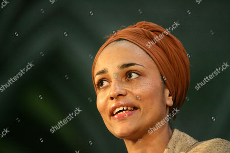 Stock Photo of Zadie Smith British author Zadie Smith speaks after winning the Orange Prize for Fiction for her third novel 'On Beauty' at an award ceremony at the Royal Court of Justice in London. The lineup of 20 writers under 40 announced Monday April 15, 2013 included newcomer Taiye Selasi and established best-seller Zadie Smith who have been named to Granta magazine's list of best young British novelists _ a once-a-decade roster with a reputation for predicting literary stars