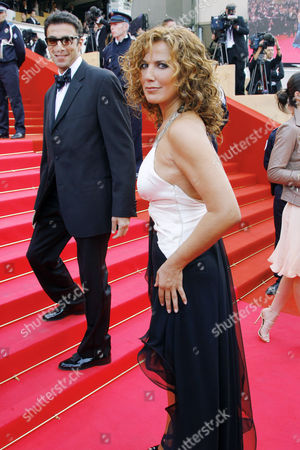 """Natacha Amal Belgian actress Natacha Amal arrives to the opening night ceremony and the premiere of the film """"Blindness,"""" at the 61st International film festival in Cannes, southern France, on"""