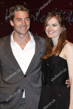 Scott Speedman, Rachel Blanchard Scott Speedman and Rachel Blanchard arrive at the Dolce and Gabbana party during the 61st International film festival in Cannes, southern France, on