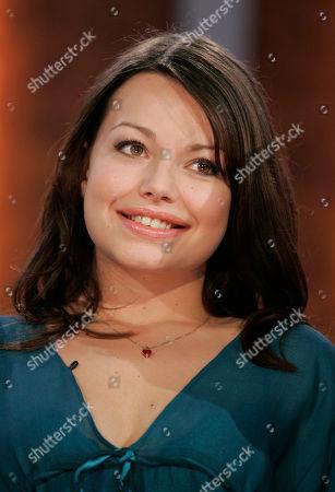 "Cosma Shiva Hagen German actress Cosma Shiva Hagen attends the German television show ""Wetten Dass..?"" (Bet it..?) in Bremen, northern Germany"