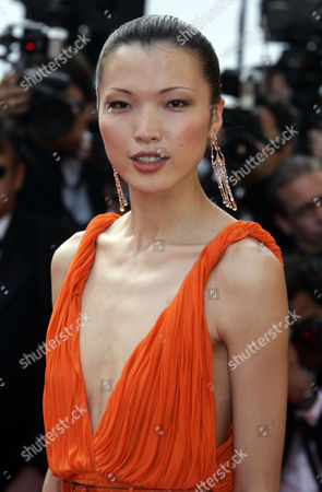 """Xin Li Xin Li arrives for the screening of """"The Da Vinci Code,"""" at the 59th International film festival in Cannes, southern France, on"""