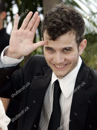 """Michael Moshonov Israeli actor Michael Moshonov poses during the photocall for the film """"Tehilim,"""" of French Director Raphael Nadjari at the 60th International film festival in Cannes, southern France, on"""