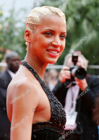 """Noemi Lenoir Noemi Lenoir arrives for the screening of the film """"We Own the Night,"""" at the 60th International film festival in Cannes, southern France, on"""