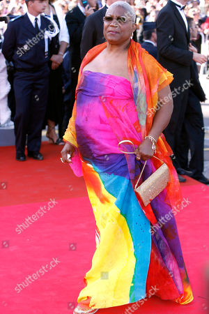 """Firmine Richard French actress Firmine Richard arrives for the screening of the film """"Zodiac,"""" at the 60th International film festival in Cannes, southern France, on"""