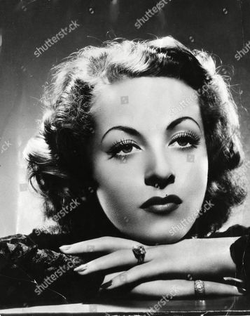 Danielle Darrieux A 1930s portrait of French actress Danielle Darrieux