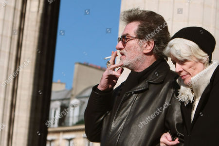 Eddy Mitchel, Francoise Hardy French singers Francoise Hardy, right, and Eddy Mitchell leave the Madeleine church following French singer Henri Salvador's funeral ceremony, in Paris. Salvador, the velvet-voiced French musician credited with inspiring the bossa nova, bringing rock 'n' roll to France and helping create the music video, died Wednesday, Feb. 13, 2008. He was 90