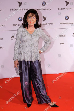 Regine Sixt Regine Sixt arrives at the 'Cinema For Peace' gala in Berlin, Germany