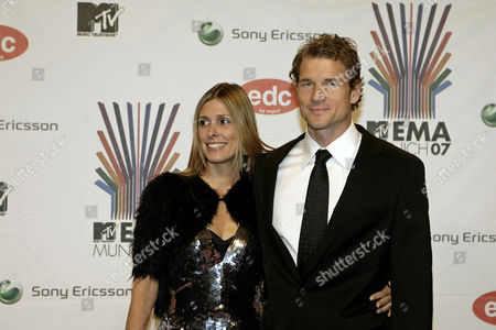 Jens Lehmann, Conny Lehmann German soccer player Jens Lehmann, right, and his wife Conny arrive at the MTV Europe Music Awards 2007 in Munich, Germany