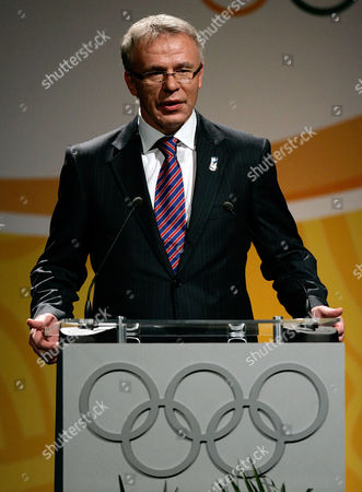 Viacheslav Fetisov Russia's Sports Minister Viacheslav Fetisov speaks during the presentation of Sochi city as Russia's bid to host the Winter Olympic Games in 2014 at the 119th Session of the International Olympic Committee, IOC, in Guatemala City