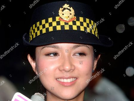 Fiona Sit Hong Kong pop star Fiona Sit promotes a road safety campaign in Hong Kong on