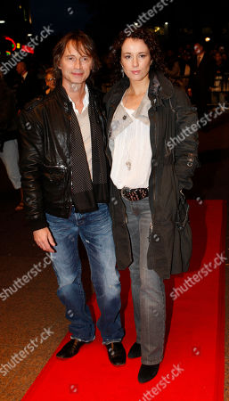 Stock Photo of Actor Robert Carlyle and his wife Anastasia Shirley arrive for The Times BFI London Film Festival screening of 'I Know You Know' in London, Saurday