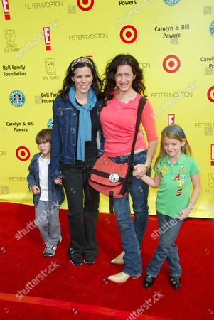 Joely Fisher and daughter Skyler with Tricia Leigh Fisher and so