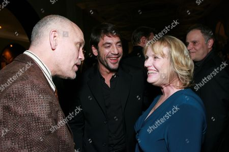 John Malkovich, Javier Bardem and Tess Harper