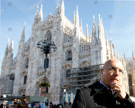 Gabriele Albertini Gabriele Albertini stands in front of the Milan gothic cathedral, Italy. Former Milan Mayor Gabriele Albertini is betting away more than a decade and a half of political allegiance to former Premier Silvio Berlusconi that the current electoral campaign will bring an end to Italy's divisive politics of the last two decades in favor of moderation and reform. Albertini, a former industrialist and two-term mayor from 1997-2006, publicly broke with Berlusconi after the media mogul who made his fortune in Milan backed a Northern League candidate in the race for the presidency of the Lombardy region over Albertini, a longtime faithful member of Berlusconi's successive parties. Albertini, 62, is now aligned with Premier Mario Monti's civic list for both the Lombard regional race and the Senate in Rome, one that will be key in determining who will govern Italy after the Feb. 24-25 vote