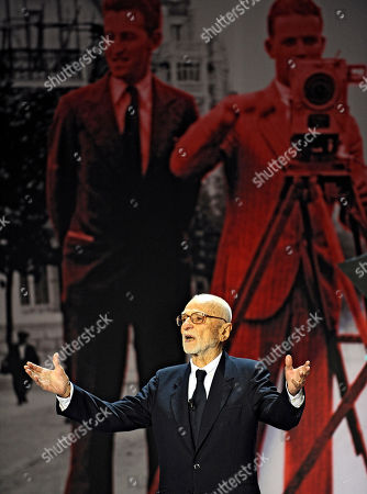Mario Monicelli Taken on Sept. 18, 2008, Italian film director Mario Monicelli, waves to his fans as he received a tribute during the open ceremony at the 56th San Sebastian Film Festival in San Sebastian, northern Spain. Oscar-nominated director Mario Monicelli died in Rome, after jumping from a fifth-story hospital window. He was 95