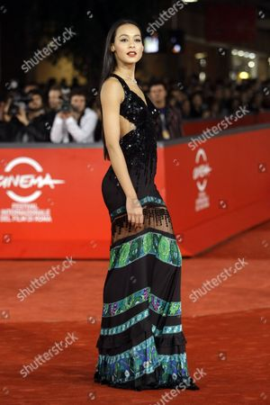 "Desiree Noferini Actress Desiree Noferini arrives for the screening of their movie ""Un gioco da ragazze"" (A game for girls) at the third edition of the Rome Film Festival, in Rome, . The third edition of the Rome film festival is scheduled to run until Oct. 31"