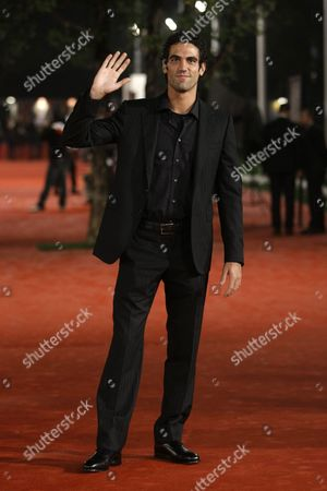 "Stock Picture of Tommaso Ramenghi Actor Tommaso Ramenghi poses during a photo call to present his movie ""Un gioco da ragazze"" (A game for girls) at the third edition of the Rome Film Festival, in Rome, . The third edition of the Rome film festival is scheduled to run until Oct. 31"