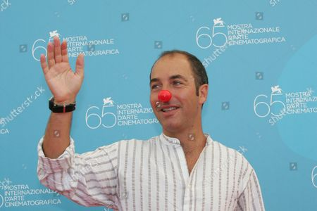 Marco Pontecorvo Director Marco Pontecorvo poses during the photo call of the movie 'Pa-ra-da' at the 65th edition of the Venice Film Festival in Venice, Italy