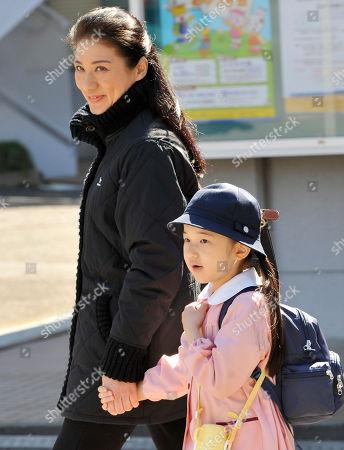Aiko, Masako Japan's Princess Aiko, led by her mother Crown Princess Masako, arrives at Kodomo-no-kuni (Children's Land) in Yokohama, near Tokyo, during an outing of her Gakushuin Kindergarten