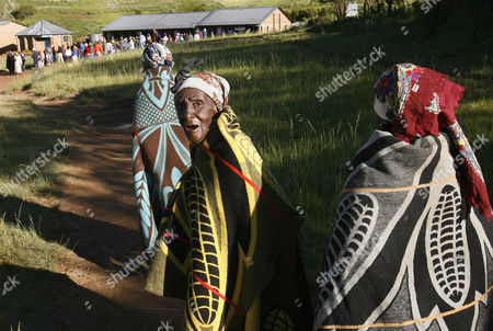Editorial photo of LESOTHO ELECTIONS, MACHACHE, Lesotho