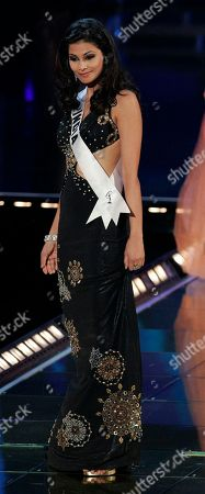 Puja Gupta Miss India Puja Gupta performs during preliminary judging of the Miss Universe contest in Mexico City, . Mexico City will host the Miss Universe 2007 finals on May 28