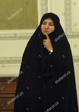 Marzieh Afkham Iranian diplomat Marzieh Afkham stands during a news conference of former Iranian Foreign Minister Manouchehr Mottaki, unseen, in Tehran, Iran. Iran's state TV is reporting the country has appointed its first ever Foreign Ministry spokeswoman. The Thursday, Aug. 29, 2013 report quotes Foreign Minister Mohammad Javad Zarif as saying Marzieh Afkham has been appointed spokesperson for the country's diplomatic apparatus