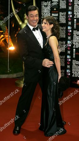 Daniel McVicar American actor, director and writer Daniel McVicar arrives with a guest at the 2008 World Music Awards ceremony in Monaco