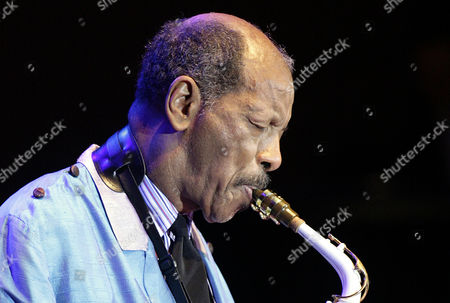 "Ornette Coleman U.S. jazz legend Ornette Coleman plays the sax during his only concert in Germany at the philharmonic concert house in Essen, Germany. Coleman, the visionary saxophonist who pioneered ""free jazz"" and won a Pulitzer Prize in 2007, died, on Thursday, June 11, 2015 in New York. He was 85"