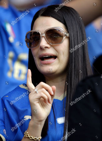 Sonia Amoruso Sonia Amoruso, wife of Alessandro Del Piero, is seen during the group C match between the Netherlands and Italy in Bern, Switzerland, at the Euro 2008 European Soccer Championships in Austria and Switzerland