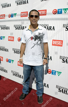 Editorial image of Toronto Film Festival Running The Sahara, Toronto, Canada