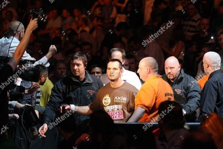 Rich Franklin Rich Franklin of the United States makes his way to the ring before his fight against Yushin Okami of Japan at UFC 72 in Belfast, Northern Ireland on