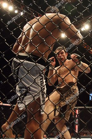 Forrest Griffin, Hector Ramirez Forrest Griffin, right, pursues Hector Ramirez at UFC 72 in Belfast, Northern Ireland on . Griffin won the fight by unanimous decison