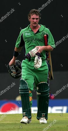 Paul Mooney Ireland's batsman Paul Mooney during the Cricket World Cup Super 8s match between Australia and Ireland at the Kensington Oval in Bridgetown, Barbados