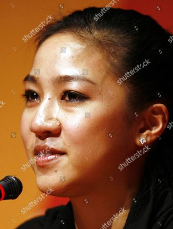 United States figure skater Michelle Kwan cries as she speaks at a news conference at the 2006 Turin Winter Olympic Games in Turin, Itlaly . Kwan dropped out of the Turin Games on Sunday morning because of a groin injury, bringing her decade-long quest for Olympic gold to a humbling end