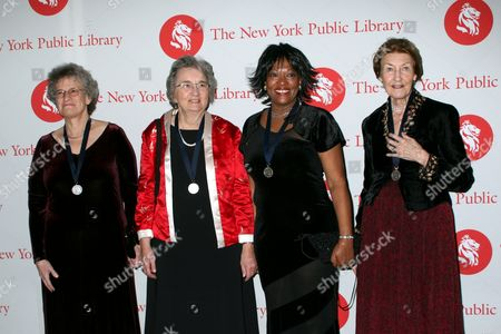Margaret Geller, Kathryn Peterson, Rita Dove, Shirley Hazzard