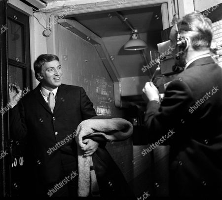 Frank Ifield being filmed for TV after 'Royal Gala'