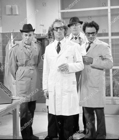 .Marty Feldman with Hugh Paddick and Bob Todd in 'MARTY FELDMAN COMEDY MACHINE'