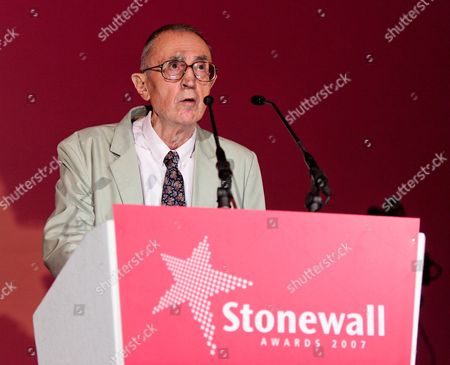 Stock Photo of Veteran gay rights campaigner Antony Grey was winner of Hero of the year