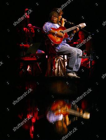 Jazz legend Milton Nascimento from Brazil plays in Copenhagen, Denmark at the Copenhagen Jazz Festival