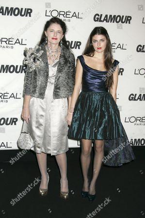 Luisa Beccaria, fashion designer and daughter Lucilla