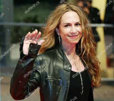 "HUNTER American actress Holly Hunter arrives for the screening of the latest movie she stars in, ""Levity"" directed by Ed Solomon, at the 29th American Film Festival of Deauville, Normandy, . The festival runs through Sept. 14"