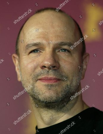 Stock Picture of RECOING French actor Aurelien Recoing poses during a photo call prior to a news conference about his movie 'Gespenster (Ghosts)' in Berlin on . A total of 21 movies take part in the competition for the Golden and Silver Bear awards from Feb. 10 to 20, 2005