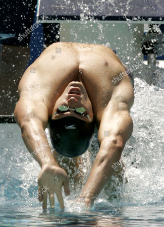 Editorial image of GREECE OLYMPICS SWIMMING, ATHENS, Greece