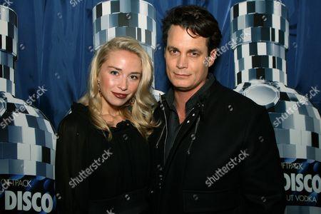 Noelle Reno and Matthew Mellon