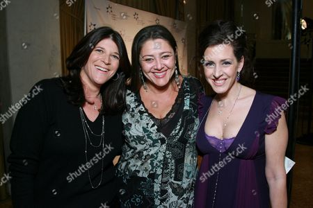 Co-honoree Missy Halperin, Camryn Manheim and Joely Fisher