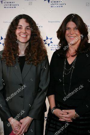 Co-honoree's Linda Simensky and Missy Halperin