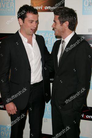 Matthew Rhys and David Annable